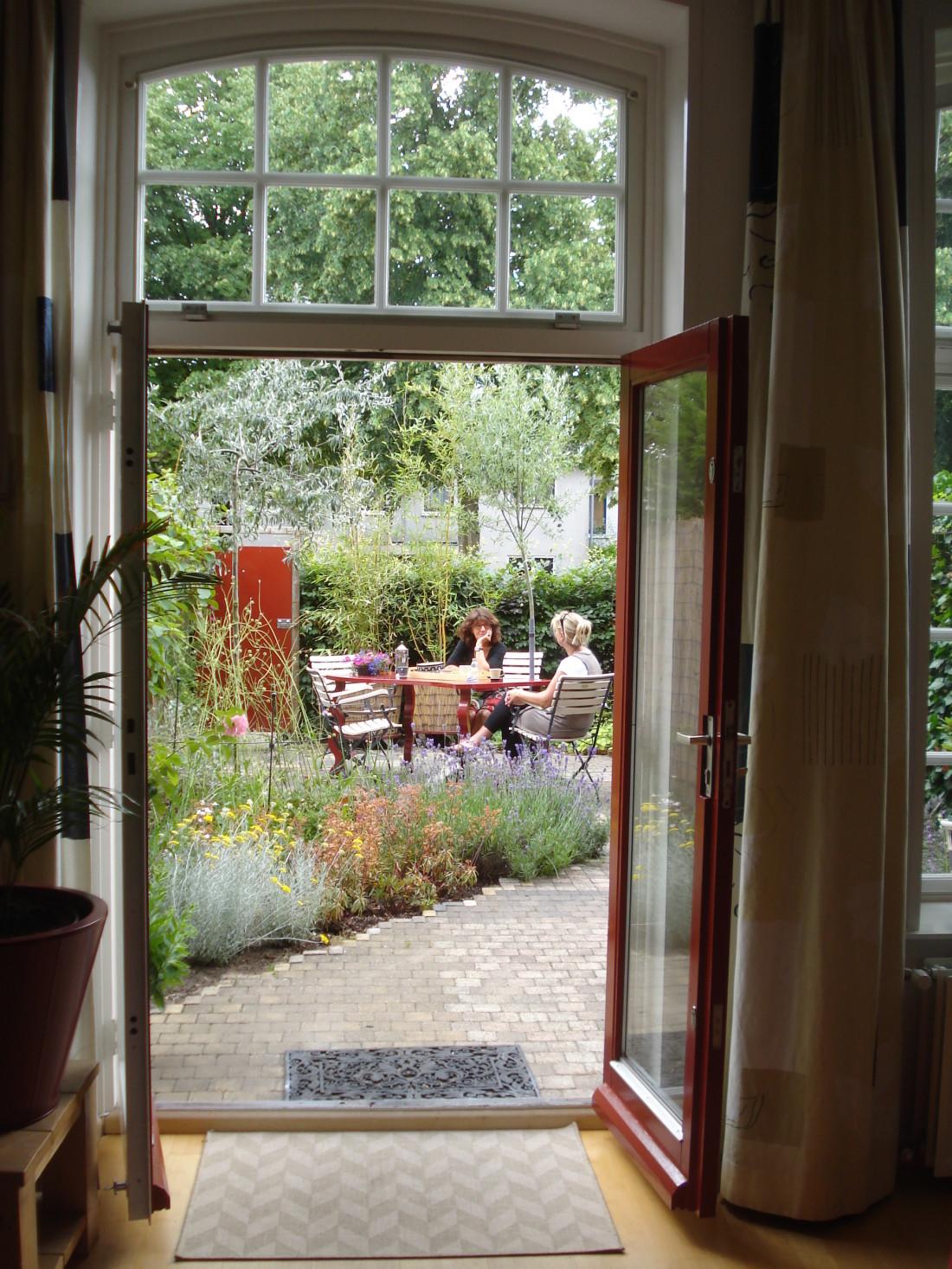 de Buitenkamer tuinontwerp, Grave, diagonale tuin Amersfoort 4