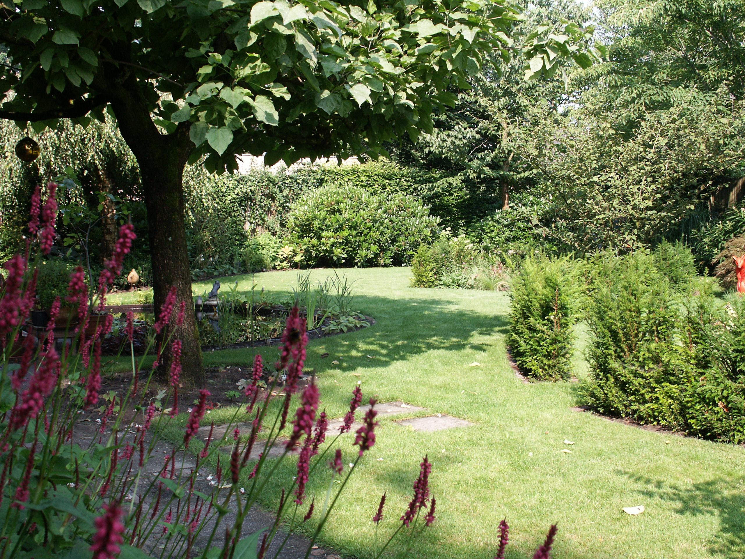 de Buitenkamer tuinontwerp, Grave, tuin met organische vormen Schaijk 4